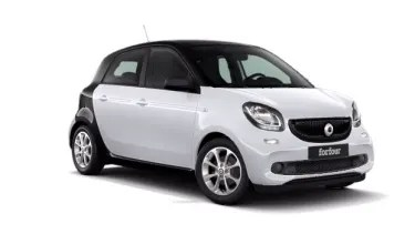 New smart Cars   Sytner smart smart forfour