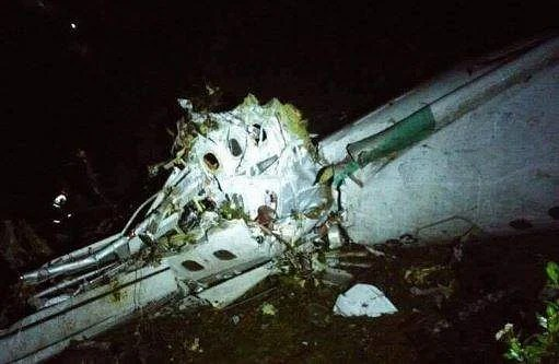 Image result for a plane carrying 81 people, including members of a Brazilian football team, crashed late Monday near the Colombian city of Medellin