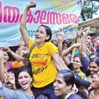 Kerala - 22-day agitation by the nurses of private hospitals in  ends in success