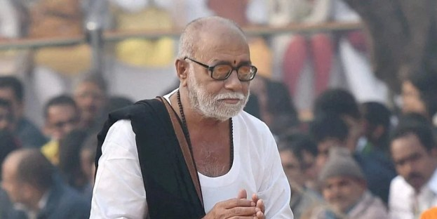 Row over Morari Bapu's invite to sex workers to his discourse in Ayodhya- The New Indian Express