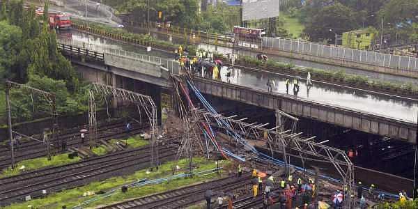 Footover bridge collapse, Bridge collapse in mumbai