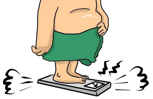Fat accumulates in the lungs of overweight and obese people