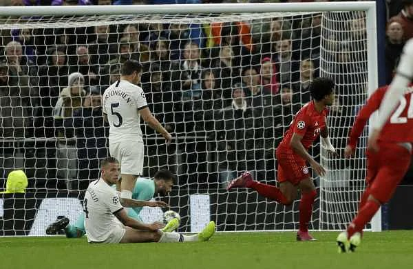 UEFA Champions League: Bayern hand Spurs record defeat as Real Madrid blushes spared