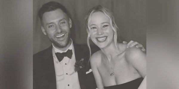 Actress Jennifer Lawrence gets married to Cooke Maroney in star-studded ceremony on Rhode Island!