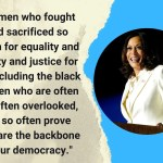 Women Race And Truth Best Quotes From Kamala Harris First Speech As Us Vice President Elect The New Indian Express