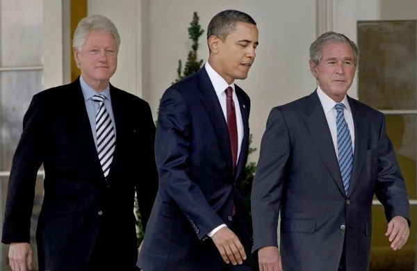 Former US presidents Obama, Bush, Clinton to publicly receive Covid-19 vaccine