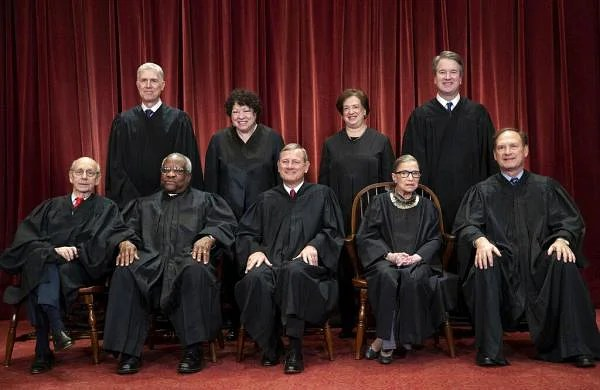 USSupreme Court broadcasts live as they holdfirst-everphone arguments amid COVID-19