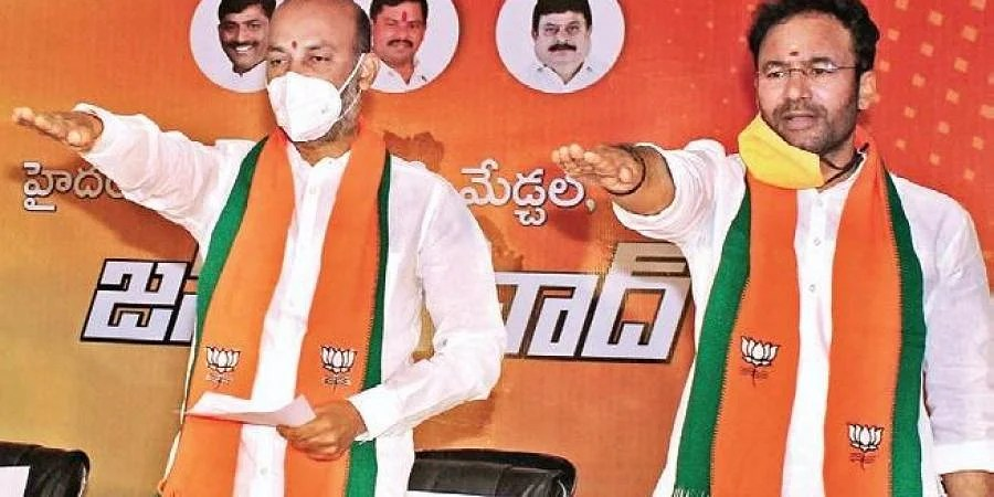 Central BJP Kicks Bandi Sanjay Out From GHMC Campaign