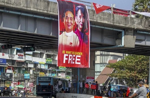Myanmar's Aung San Suu Kyi faces two new criminal charges