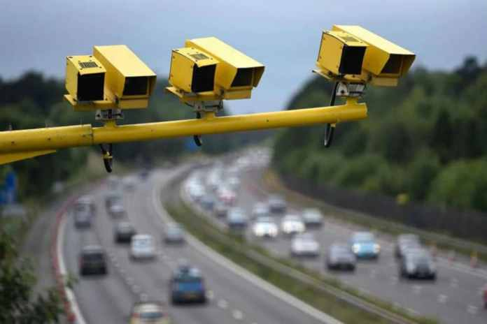 It is not only impossible to avoid the traffic camera.