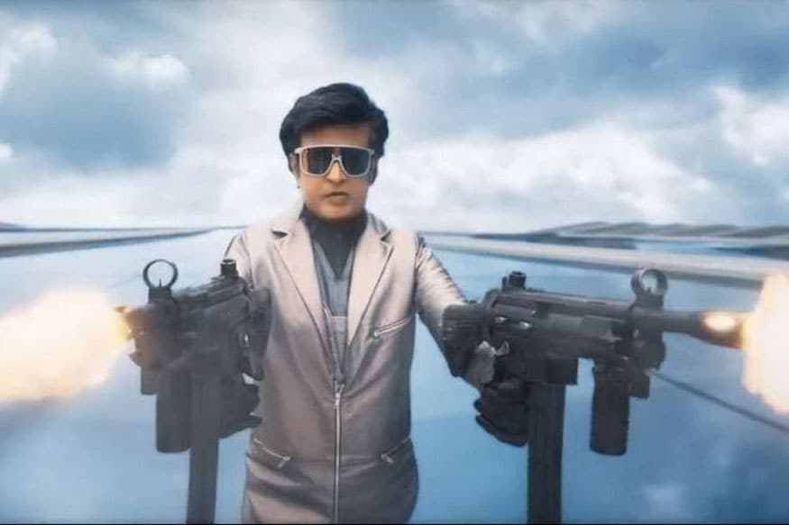 A still from Rajinikanth-starer film 2.0