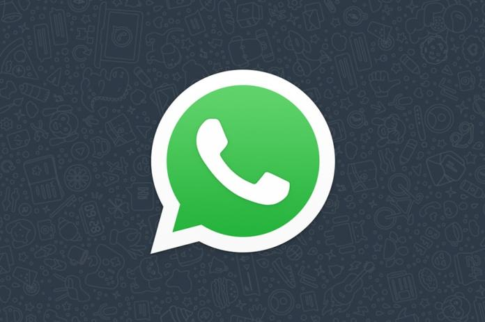 WhatsApp dark logo