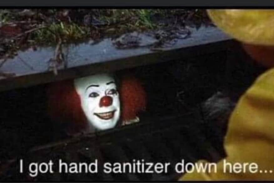 I Got Hand Sanitizer Down Here Stephen King Just Tweeted A