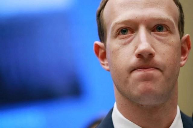 File photo of Facebook CEO Mark Zuckerberg