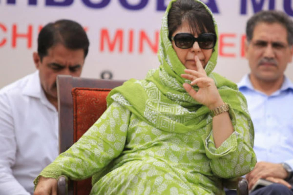 Mehbooba is under detention at her official residence in Srinagar that has been declared a subsidiary jail.