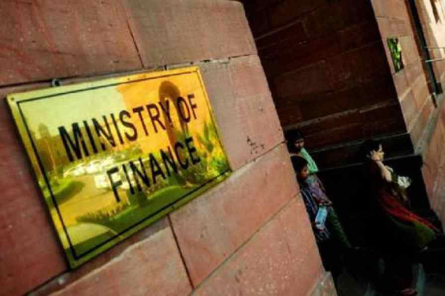 A file photo of the ministry of finance, New Delhi.