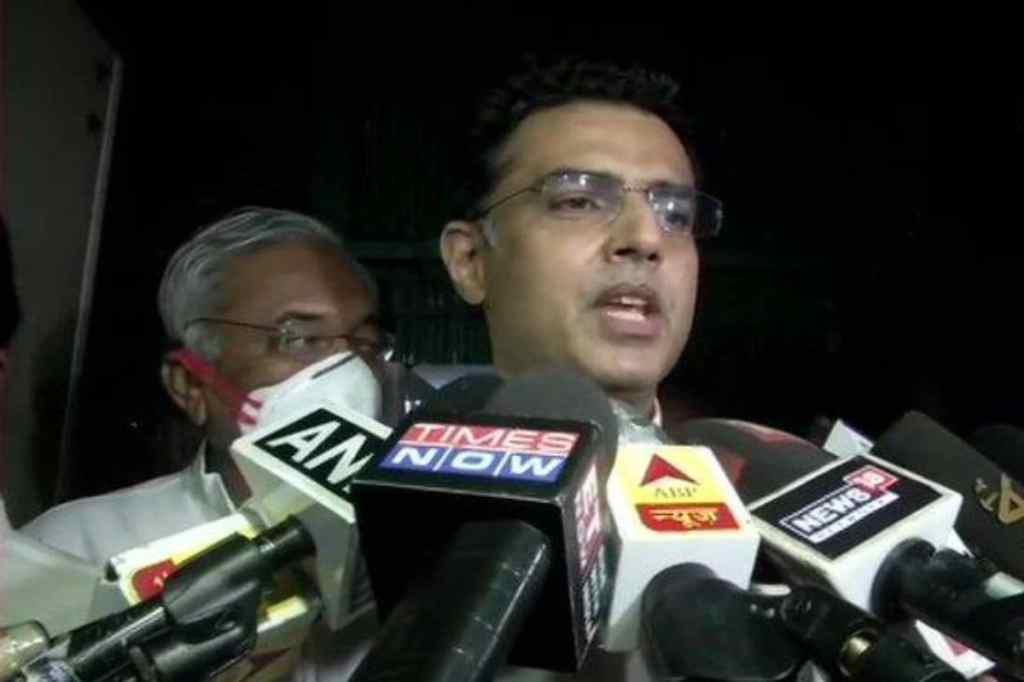पार्टी से किसी भी पद की मांग नहीं की, राजनीति मत करो, जयपुर पहुंचने के बाद पायलट कहते हैं
