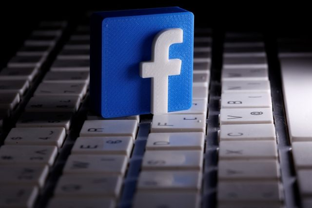 Facebook logo. (Reuters photo)