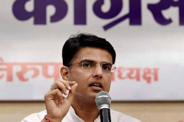 File photo of Congress leader Sachin Pilot.