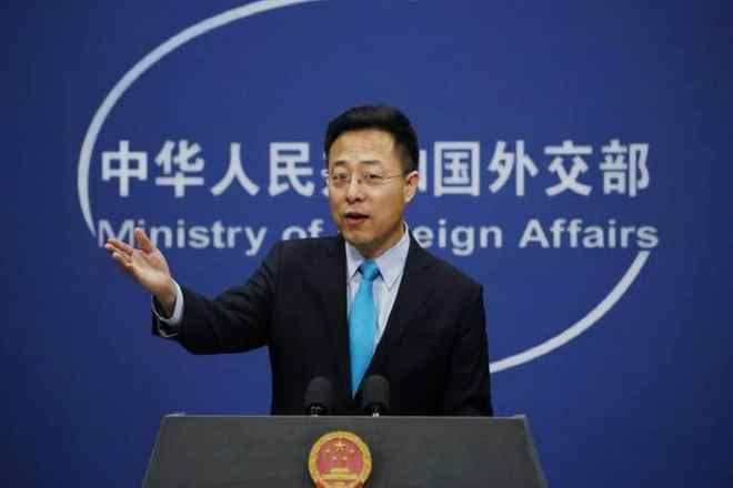 File photo of Chinese foreign ministry spokesperson Zhao Lijian.