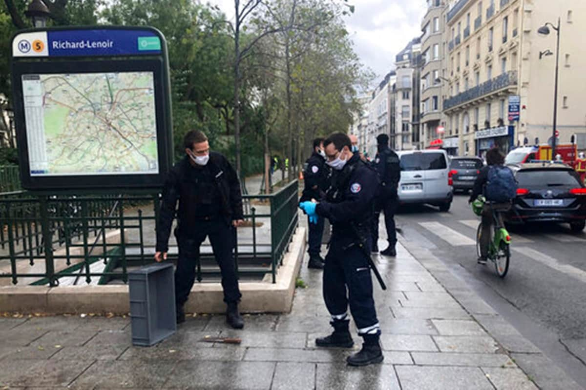 Paris Knife Attacker Suspect Says Wanted to Go After Charlie Hebdo: Report