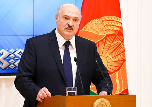 Russian Spymaster Accuses US Of Fomenting Belarus Protests