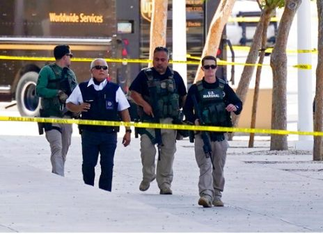 Gunman Opened Fire On Federal Officer In Ambush Near Court