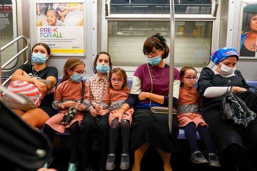 NYC Tries  Fines To Get Scofflaws To Don Masks On Subway