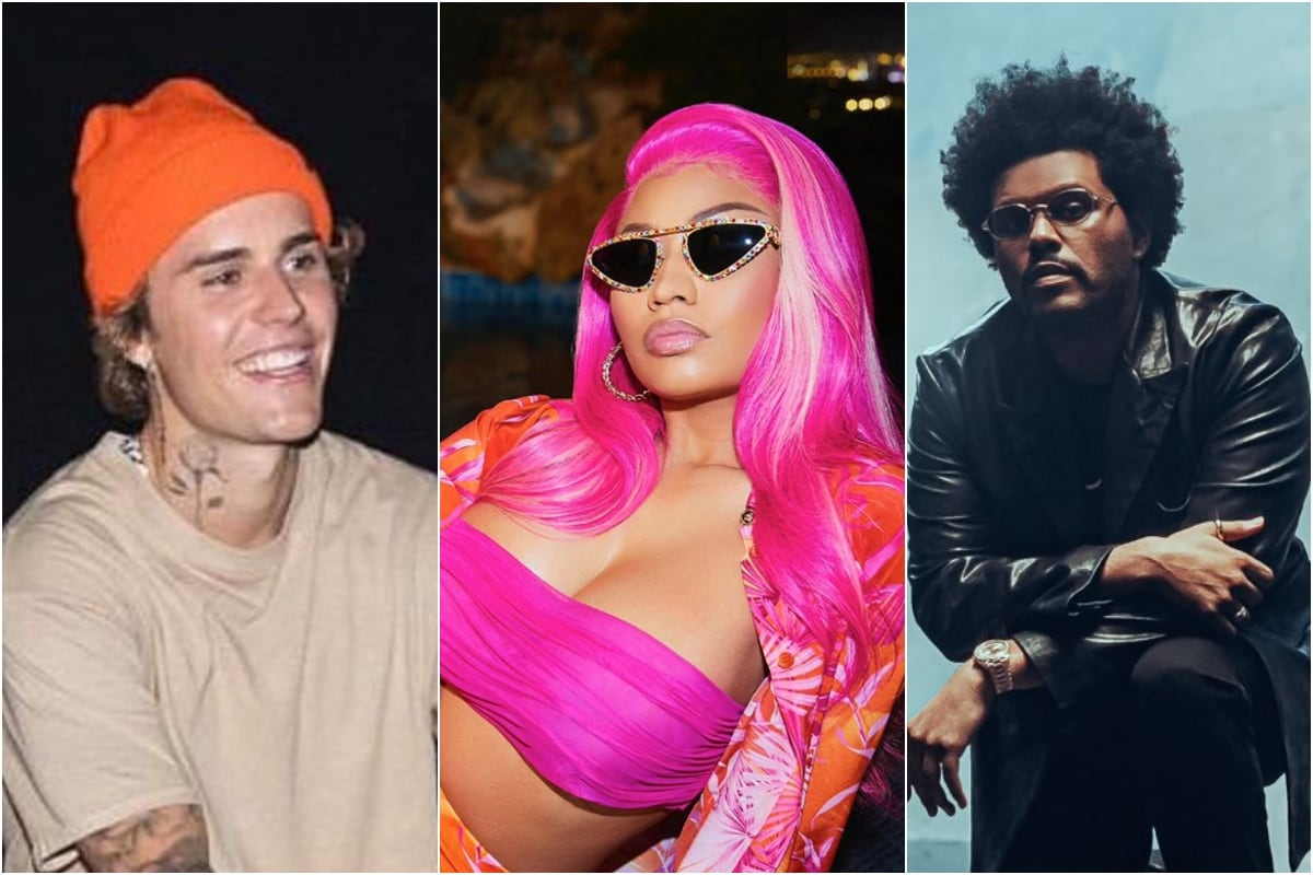 2vmpcpsexq0s6m https newstube co in the weeknd nicki minaj justin bieber not happy with grammy nominations heres why
