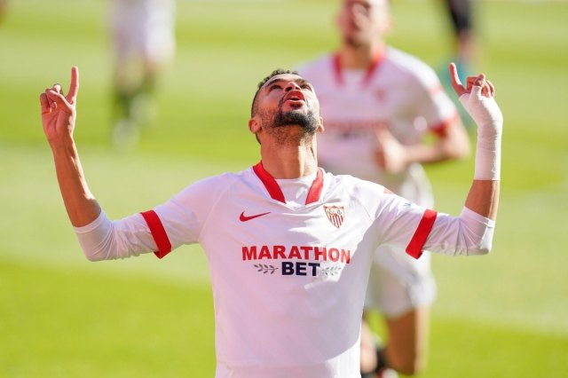 La Liga: Youssef En-Nesyri Treble Helps Sevilla Beat Real Sociedad in  5-Goal Thriller