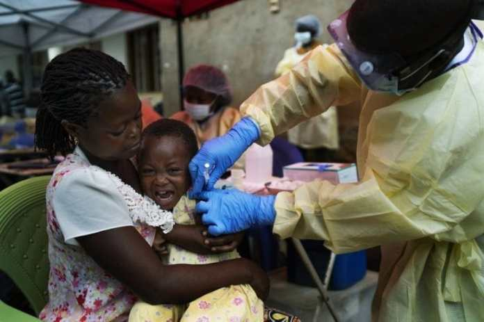 The head of Guinea's health agency said Sunday that the country was in the midst of an Ebola