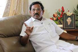 AIADMK Minister Ma Foi K Pandiarajan
