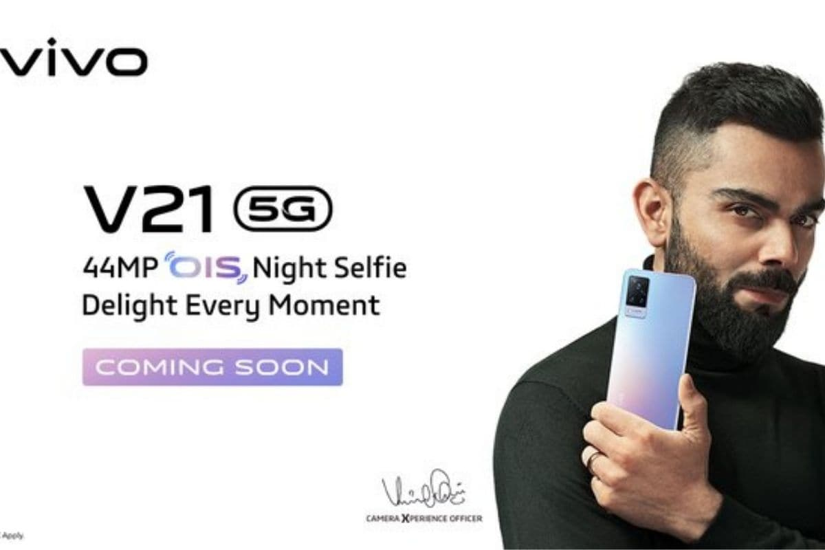 Vivo V21 5G With 44-Megapixel Selfie Camera Confirmed to Launch on April 29