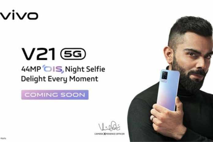 Vivo V21 5G With 44-Megapixel Selfie Camera Confirmed to Launch on April 29   Latest News Live   Find the all top headlines, breaking news for free online April 25, 2021