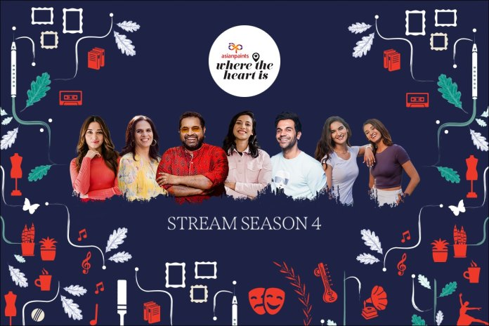 Asian Paints' Nails It Once Again With Season 4 Of 'Where The Heart Is' That Showcases Celebrity Homes Like Never Before | Latest News Live | Find the all top headlines, breaking news for free online April 30, 2021