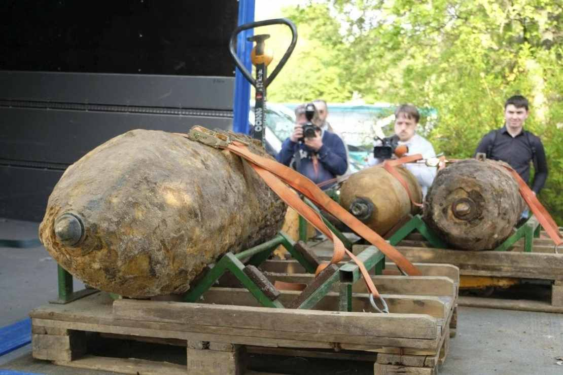 Image for representation only. Photo shows a defused WWII bomb. Credits: AP.