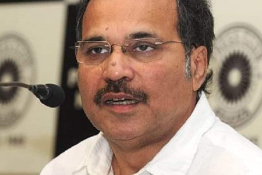 """He requested the prime minister to """"do the needful to increase the quota of Covid vaccine"""" for the state.(PTI photo of Adhir Ranjan Chowdhury)"""