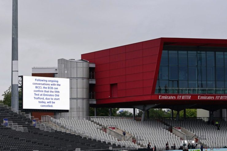 Old Trafford hasn't hosted a Test since 2019. (AP Photo)