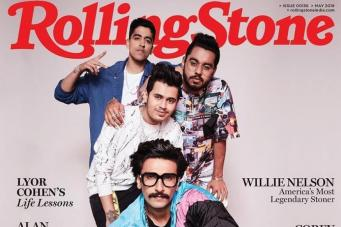 Ranveer Singh Features on the Cover of Rolling Stone Magazine with His Gully Squad
