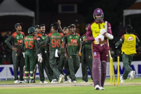 Image result for Bangladesh seal T20 series with 19-run victory over Windies