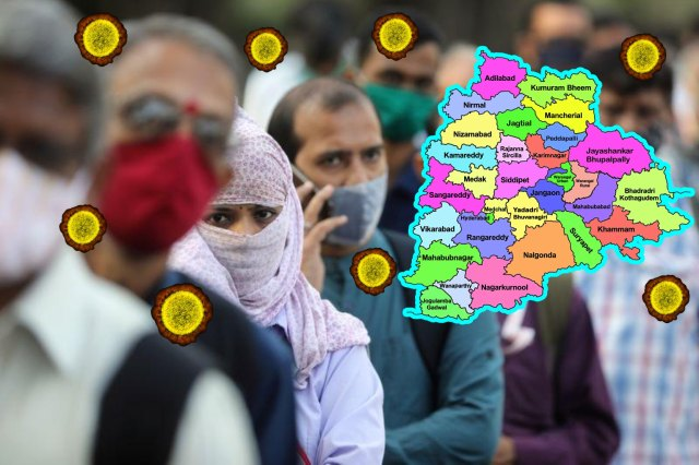 Meanwhile, Telangana was hailed as a great state that controlled the corona well in South India and allowed fewer deaths.  If you look now ... there are suspicions that you are losing control again.  The government is alert on this ... it is bringing appropriate reports and reports from the districts.  Corona ordered people to take precautions.  (image credit - twitter)
