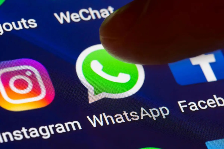 WhatsApp uses end-to-end encryption to keep messages secure
