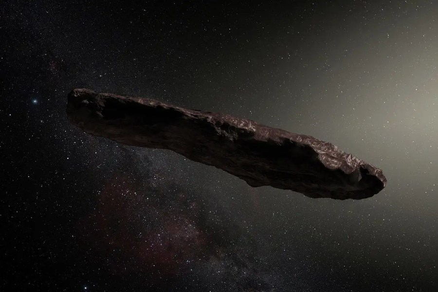 We are still trying to solve the mystery of 'Oumuamua