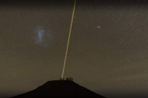 Watch: Very Large Telescope uses giant lasers in hunt for black holes