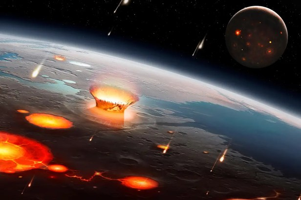 Asteroid smash-up may have rained down on Earth 290 million years ago