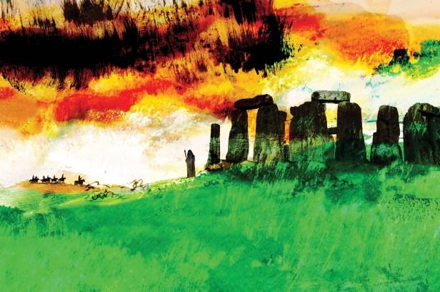 Stonehenge artwork