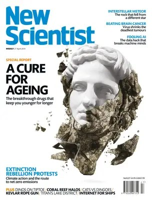 New Scientist issue 3227 cover