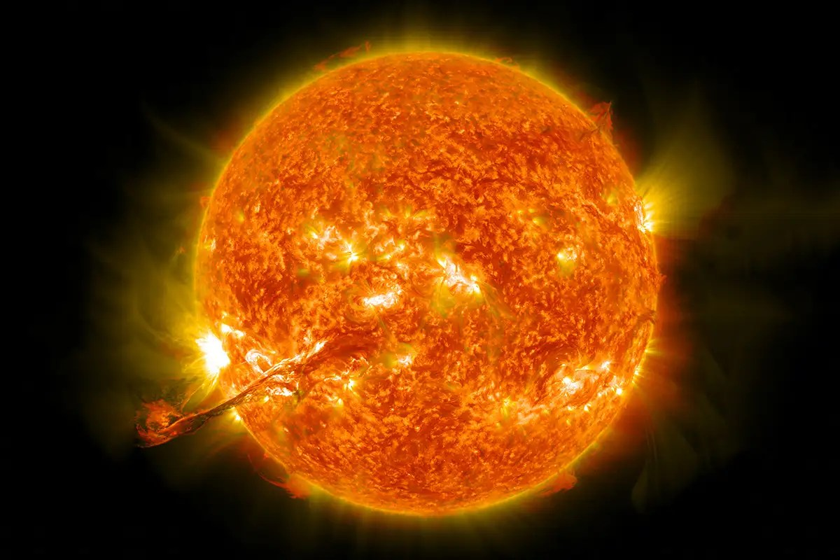 The Young Sun Spun Slowly Which Could Explain Why We Are