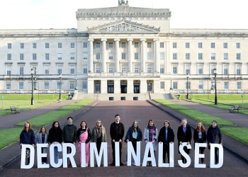 Abortion is now no longer illegal in Northern Ireland