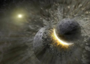 Star systems full of planetary smash-ups are bad news for alien life